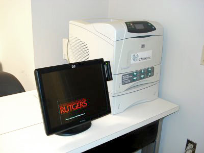 Printer and Release Station